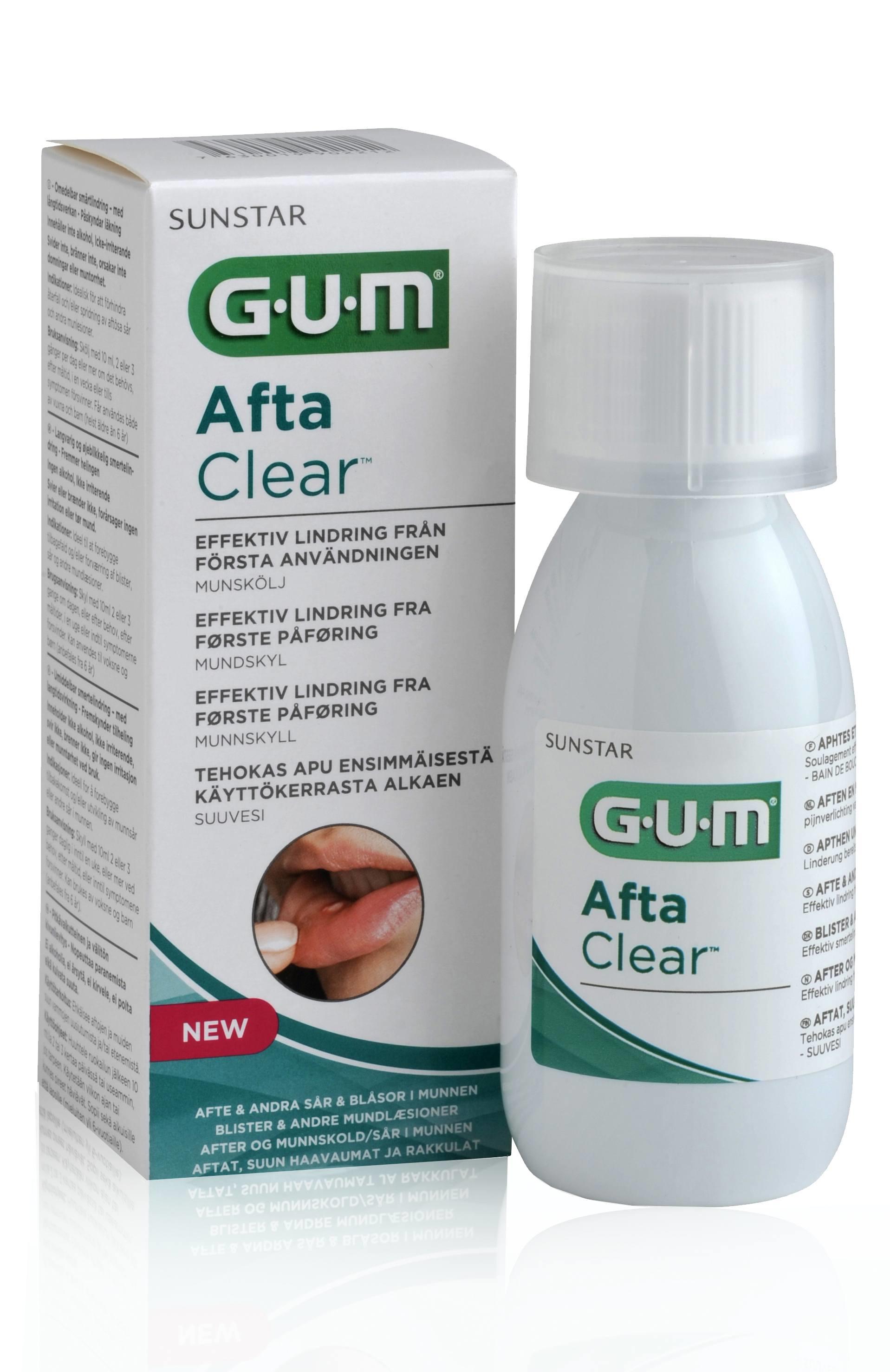 GUM AftaClear, mundskyl, 10 ml