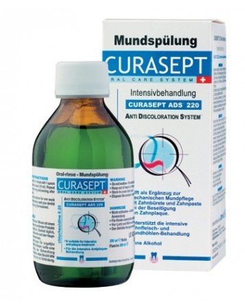 Curasept ADS 220 mundskyl, 0.20% CHX, 200 ml