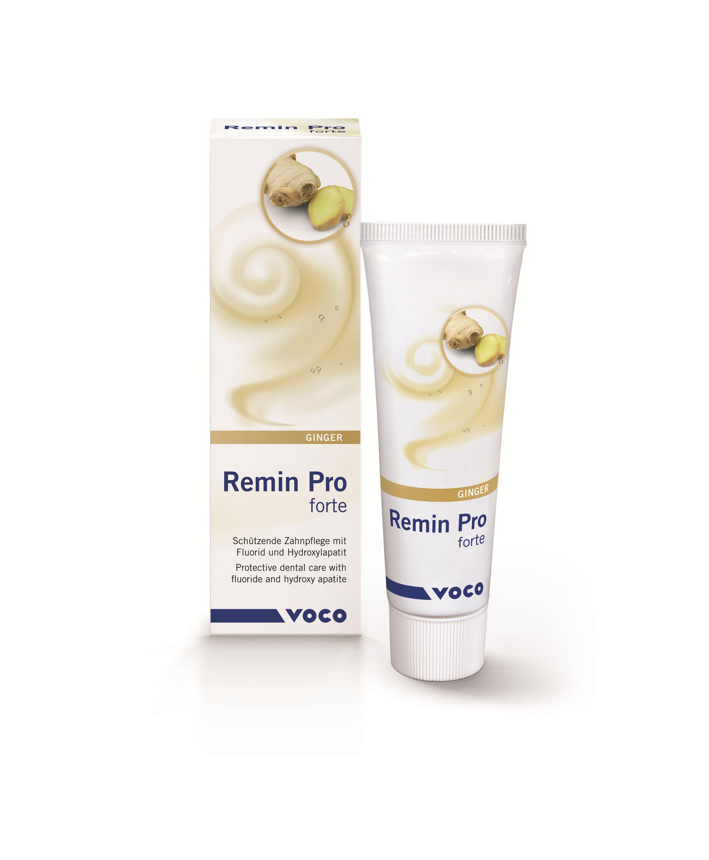Remin Pro forte, tube, m/ingefær,40 g