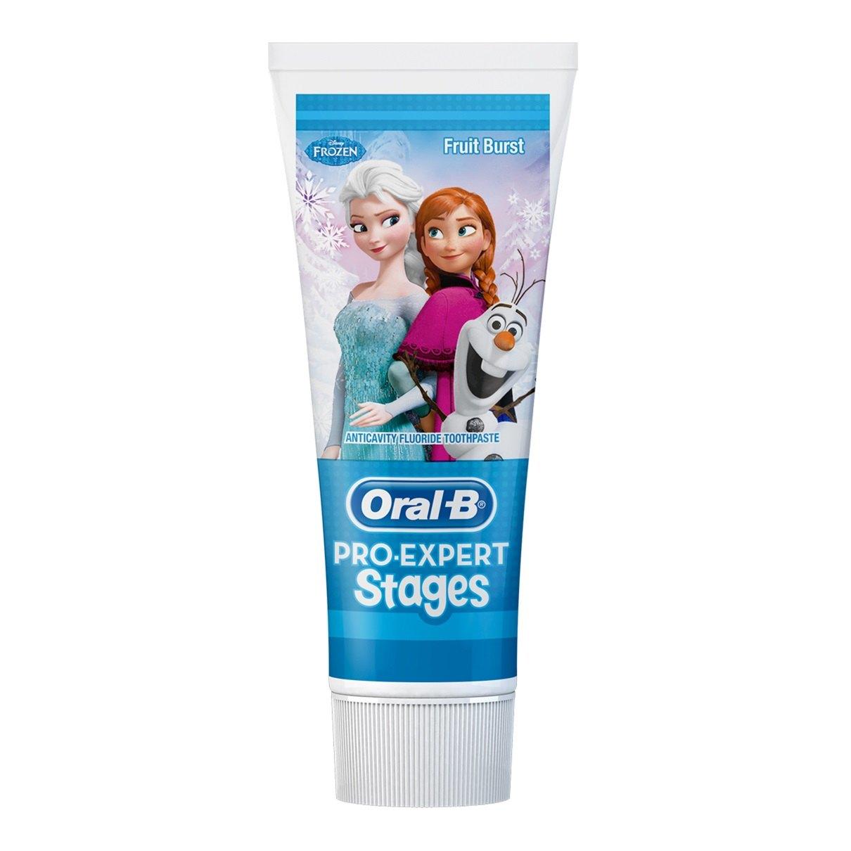Oral-B, tandpasta, Stages, Frozen, 75 ml