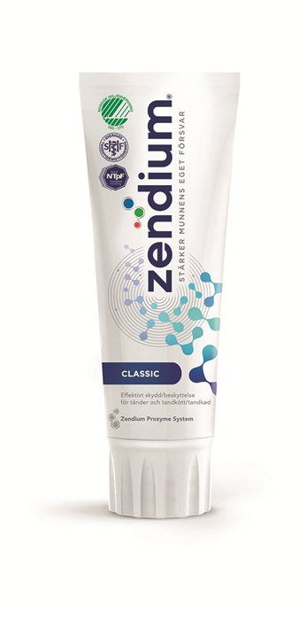 Zendium, tandpasta, Classic, 75 ml