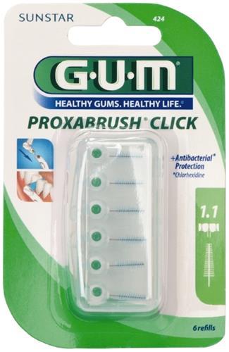 GUM Proxa, classic, iso 3, 1.1 mm, 6 stk
