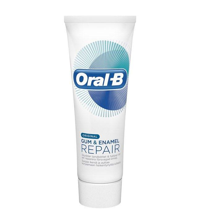 Oral-B Glide, Gum Care / Gum & Enamel - 3 stk.