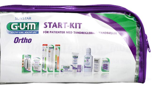 GUM Ortho, start kit
